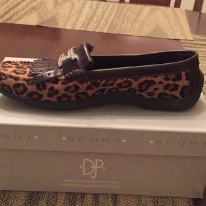 Donald J Pliner leopard shoes
